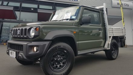 New Suzuki Jimny ute announced in New Zealand