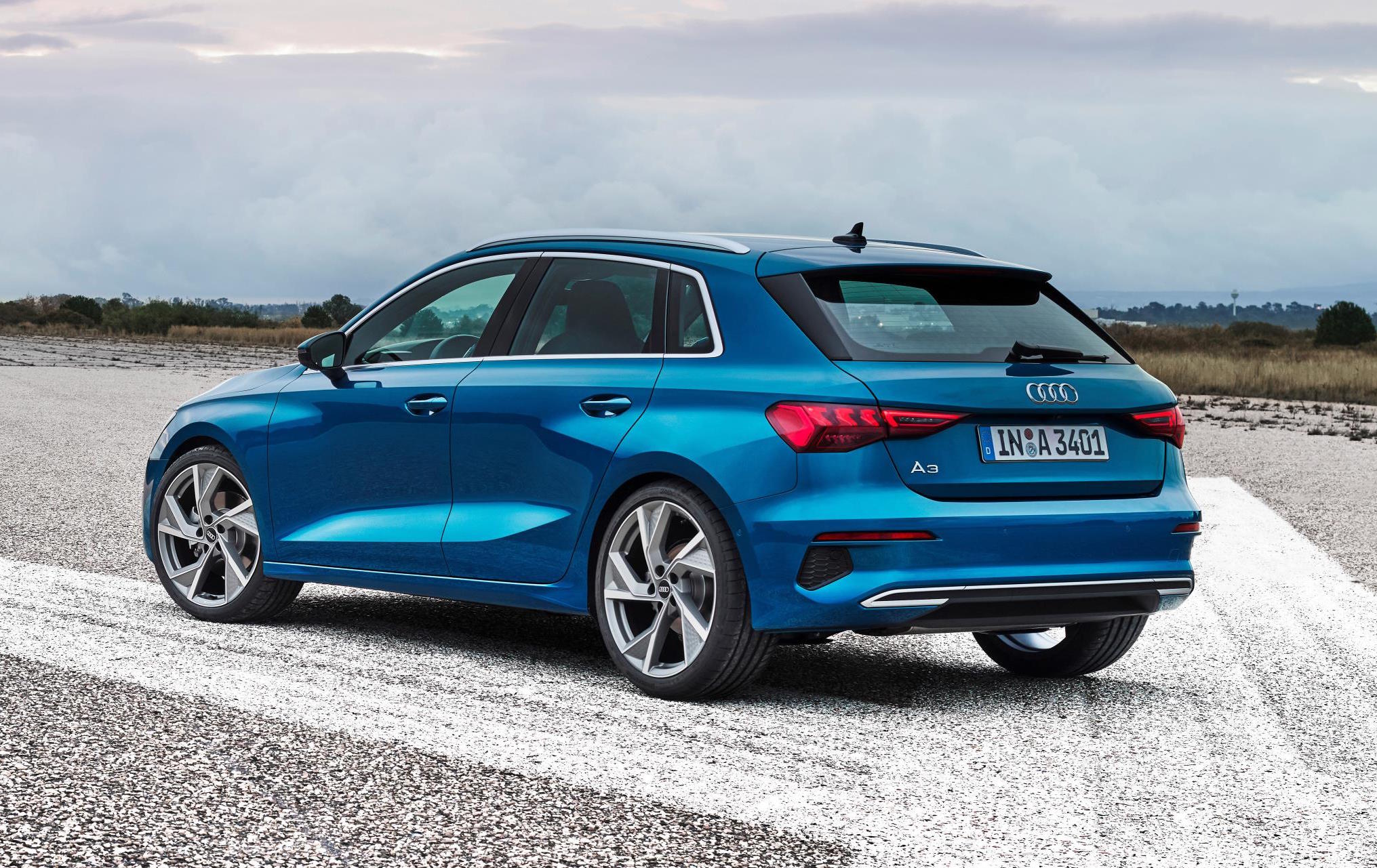 2021 Audi A3 Sportback Revealed With Muscular New Design Performancedrive