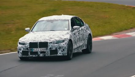2021 BMW M3 'G80' recommences testing at Nurburgring (video)