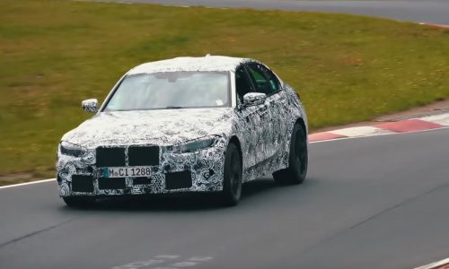 2021 BMW M3 'G80' recommences testing at Nurburgring (video)