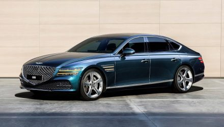 2021 Genesis G80 unveiled in full, gets 3.5L twin-turbo V6