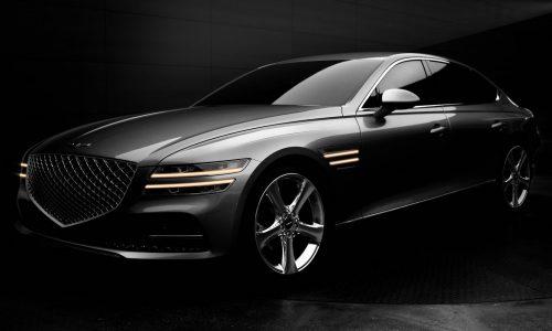 2021 Genesis G80 unveiled with fresh design, new platform