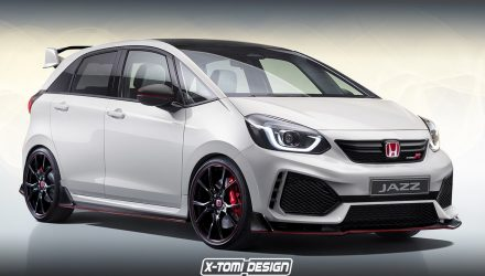New Honda Jazz Type R 'a possibility', rendering provides inspiration