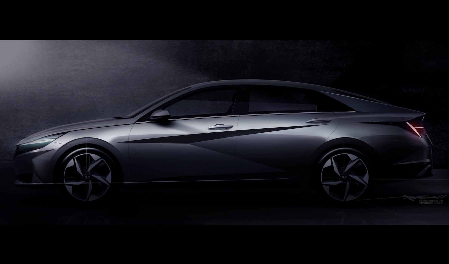 2021 Hyundai Elantra previews 'Parametric Dynamics' styling