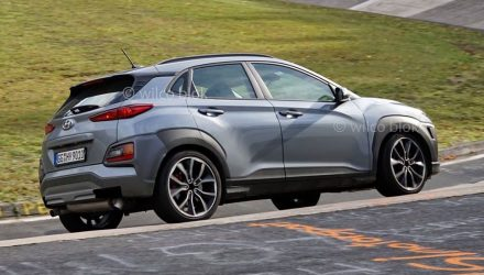 2021 Hyundai Kona N prototype spotted, to use i30 N 2.0L turbo