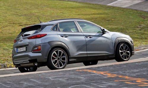 2021 Hyundai Kona N prototype spotted, to use i30 N 2.0L turbo
