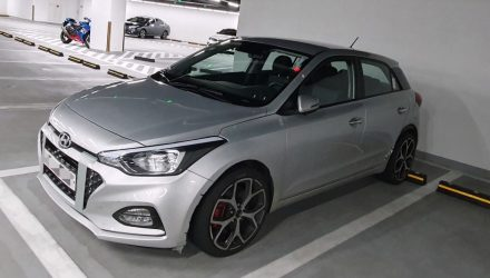2021 Hyundai i20 N test mule spotted, 1.6 turbo expected