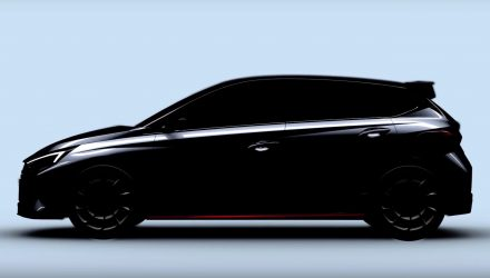 2021 Hyundai i20 N previewed for the first time (video)