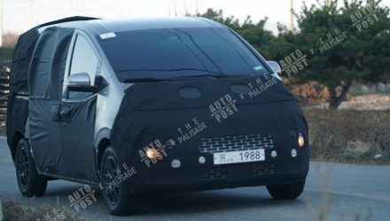 2021 Hyundai iMax/iLoad spotted, switches to FWD platform