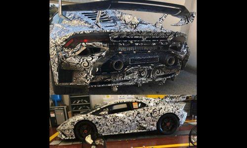 Lamborghini Huracan 'STO' spotted, most hardcore road variant yet