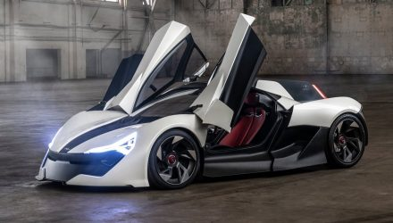 APEX AP-0 revealed as new 485kW electric supercar