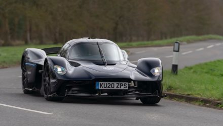 Aston Martin Valkyrie undergoes final tests on public roads