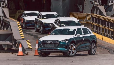 First Audi e-tron EVs land in Australia, official launch 3rd quarter