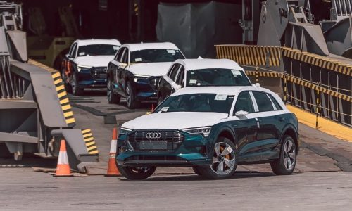 First Audi e-tron EVs land in Australia, official launch 3rd quarter