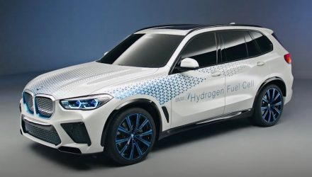 BMW i Hydrogen NEXT powertrain revealed with X5 concept