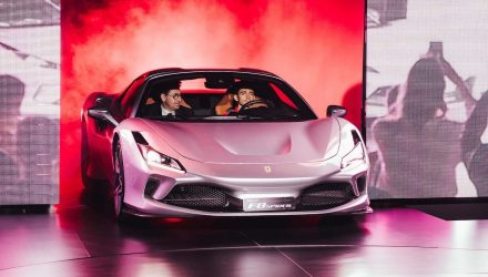 Ferrari F8 Spider makes Australian debut