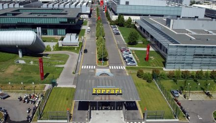Ferrari suspends production until March 27 due to COVID-19