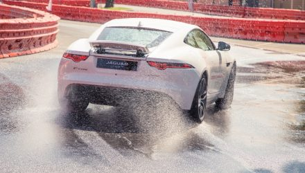 Jaguar Supersprint coming to Australian F1 GP, ride-along in F-Type