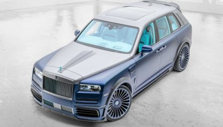 Mansory Rolls-Royce Cullinan 'Coastline' kit revealed