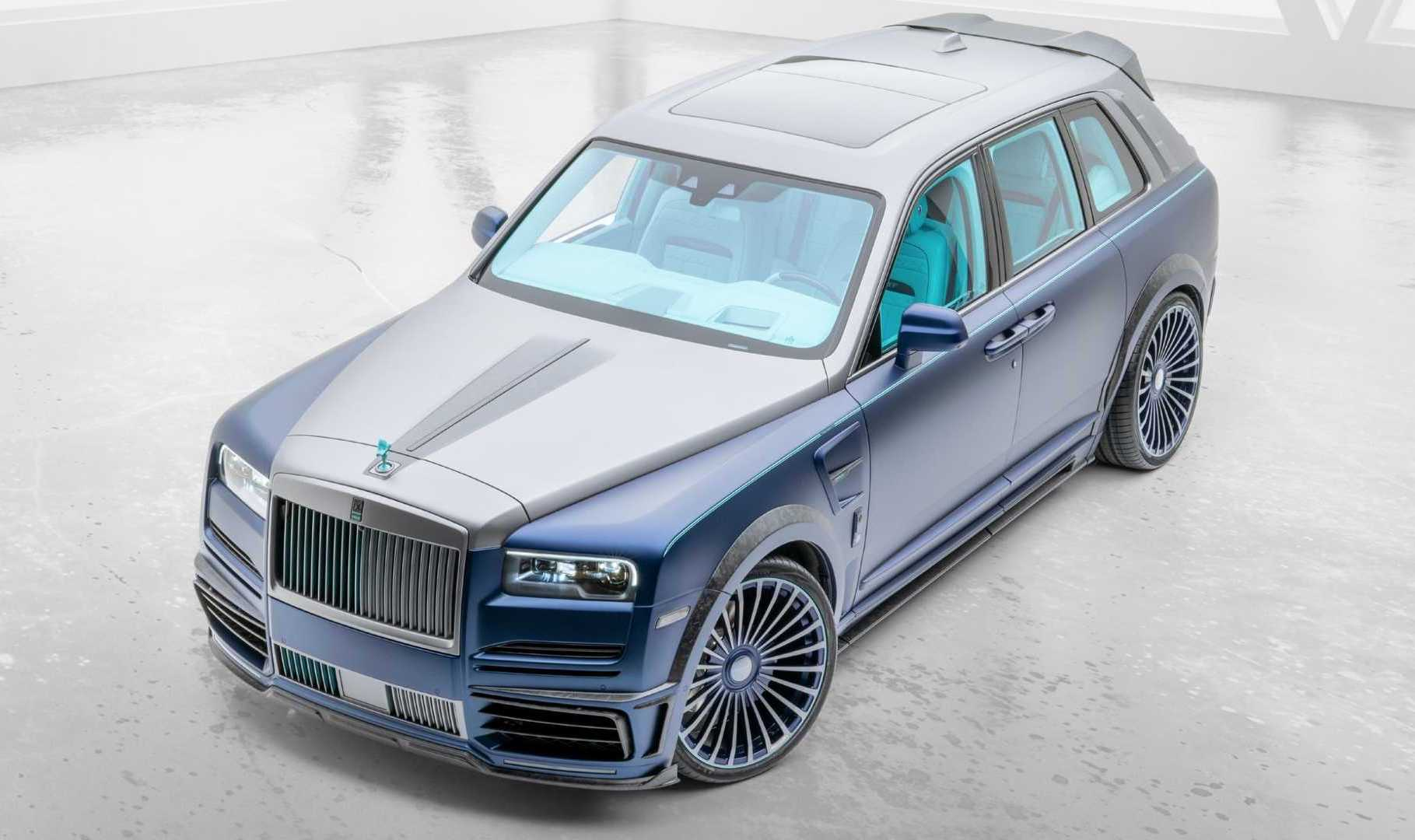 Mansory Rolls Royce Cullinan Coastline Kit Revealed Performancedrive