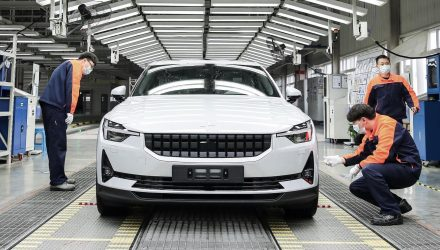 Polestar 2 production starts in Geely factory in China