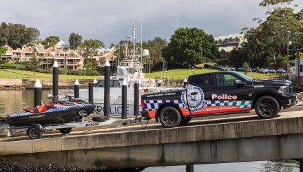 RAM 1500 police car joins NSW Marine Command