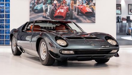 For Sale: Ultra-rare 1972 Lamborghini Miura SV, travelled just 5759km