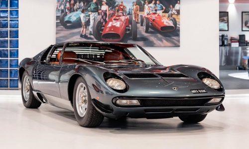 For Sale: Ultra-rare 1972 Lamborghini Miura SV, travelled just 5759km