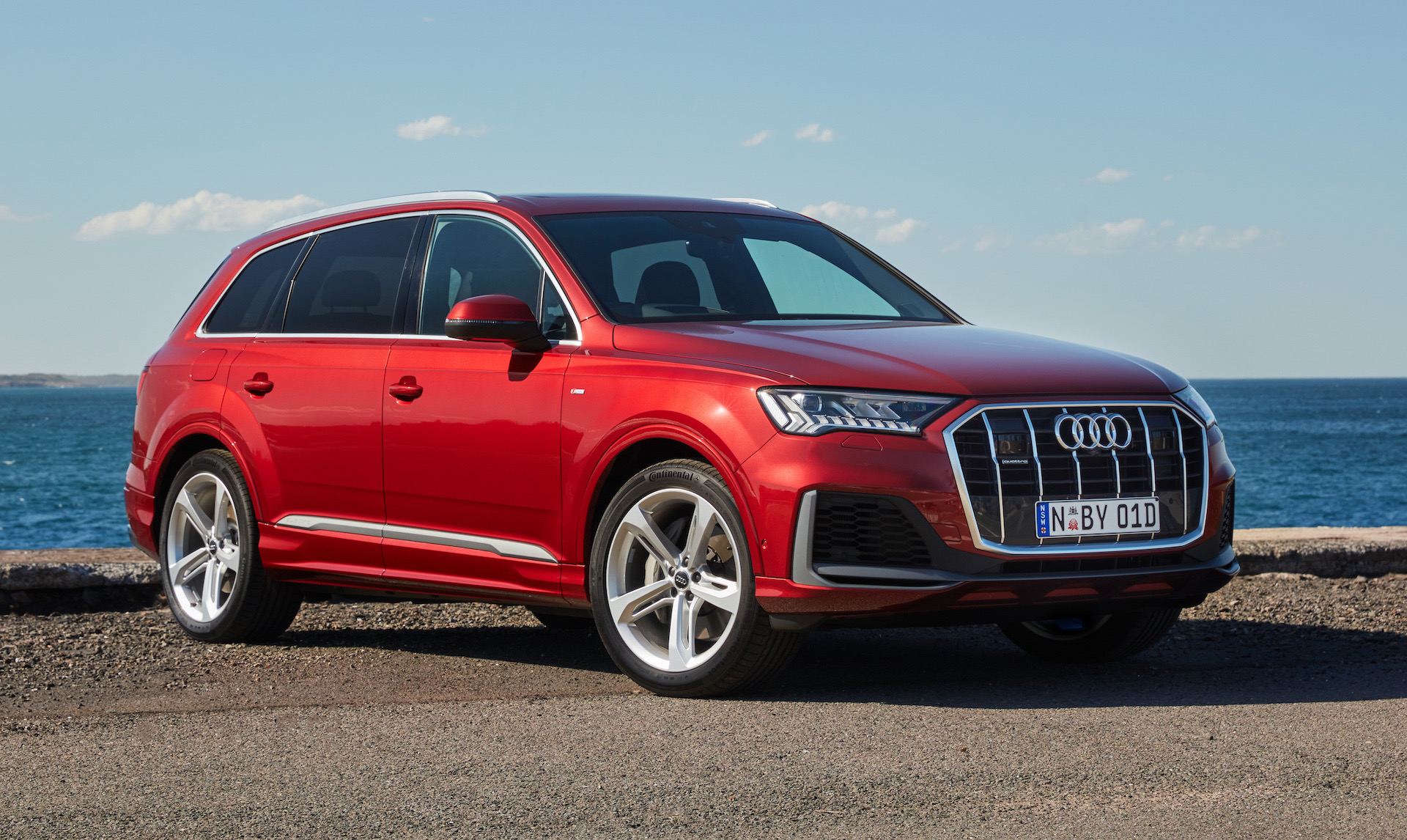 2020 Audi Q7 Now On Sale In Australia From 101 900 Performancedrive