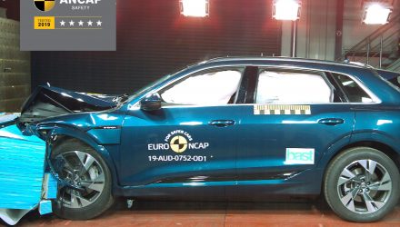 Audi e-tron scores 5-star ANCAP safety rating