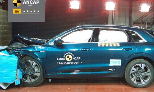 Audi e-tron scores 5-star ANCAP safety rating