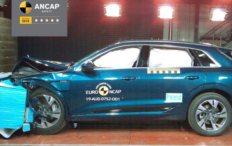 Audi e-tron - 5 Star ANCAP Safety rating