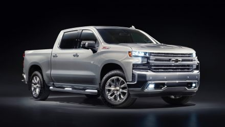 Chevrolet Silverado 1500 LTZ on sale in Australia from $113,990
