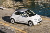 2020 Fiat 500C Dolcevita edition-roof