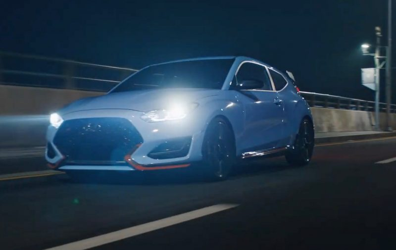 2020 Hyundai Veloster N DCT option teaser - 3