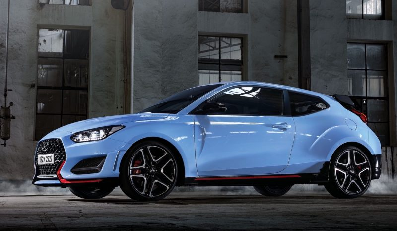 2020 Hyundai Veloster N with 8-speed N DCT
