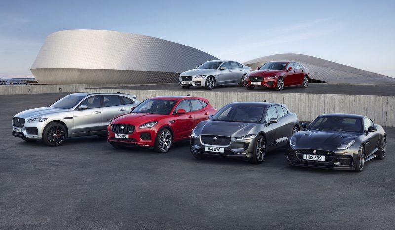2020 Jaguar range