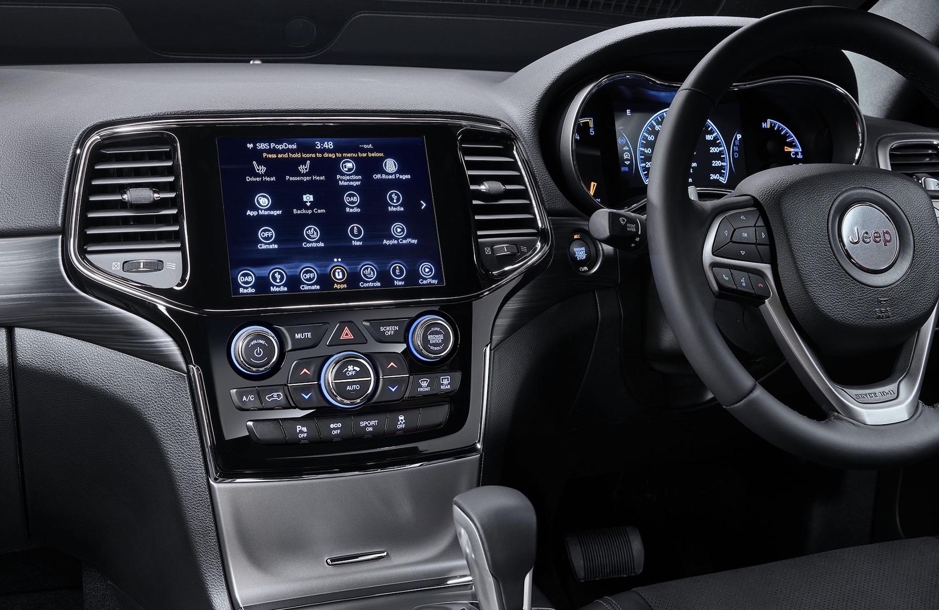 2020 Jeep Grand Cherokee Range Update Announced For Australia Performancedrive