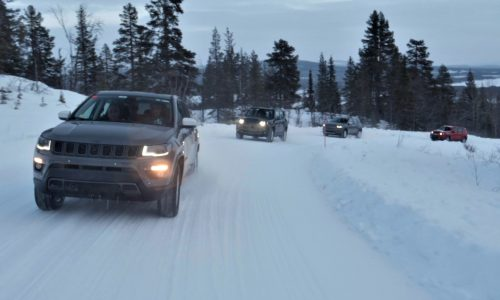 Jeep Renegade 4xe, Compass 4xe hybrids complete winter testing