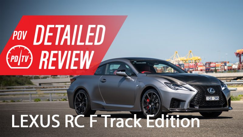 2020 Lexus RC F Track Edition review