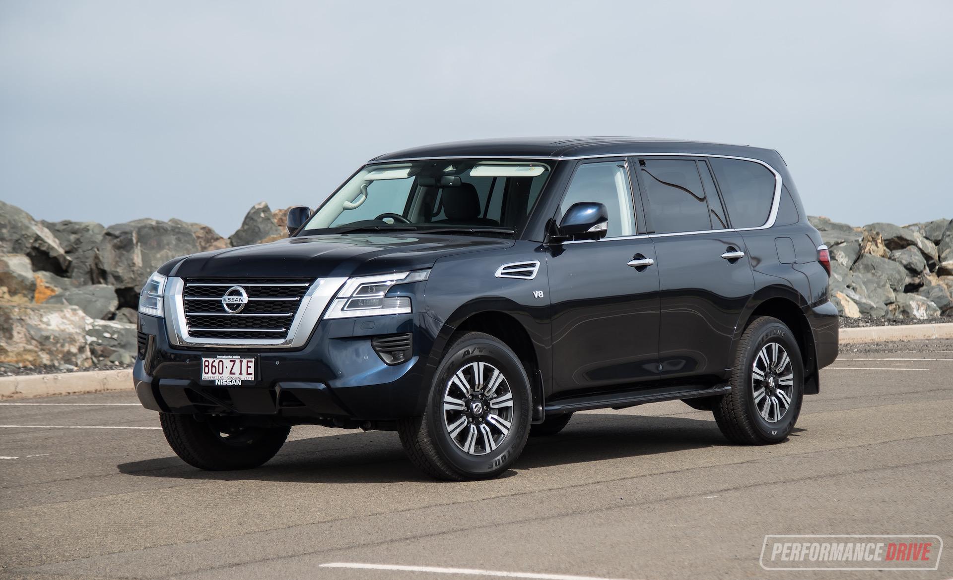 2020 Nissan Patrol Ti Review Video Performancedrive