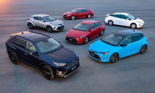 Toyota hybrid global sales surpass 15 million