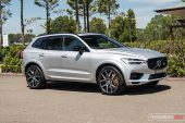 2020 Volvo XC60 T8 Polestar Engineered--Bright Silver