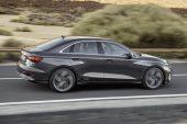 2021 Audi A3 sedan-driving
