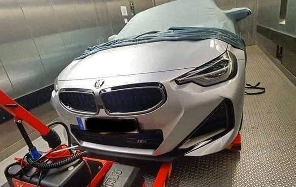Is this the all-new 2021 BMW 2 Series coupe? M240i perhaps ...
