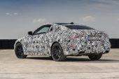 2021 BMW 4 Series prototype-rear
