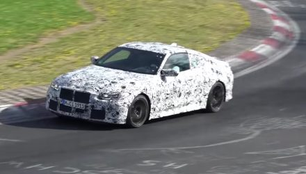2021 BMW M4 prototype