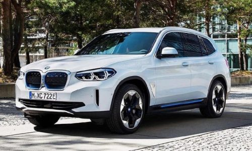 BMW iX3 fully electric mid-size SUV revealed in leaked images