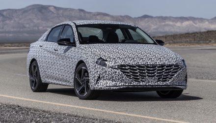 2021 Hyundai i30 Sedan N-Line prototype - 1