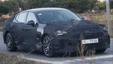 2021 Kia Stinger facelift to debut factory bi-modal exhaust